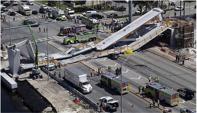 FIU Bridge Collapse - March 15, 2018